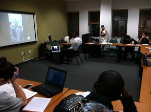 Cj Hosts Skype Gues Speaker Feb. 2015 (1)