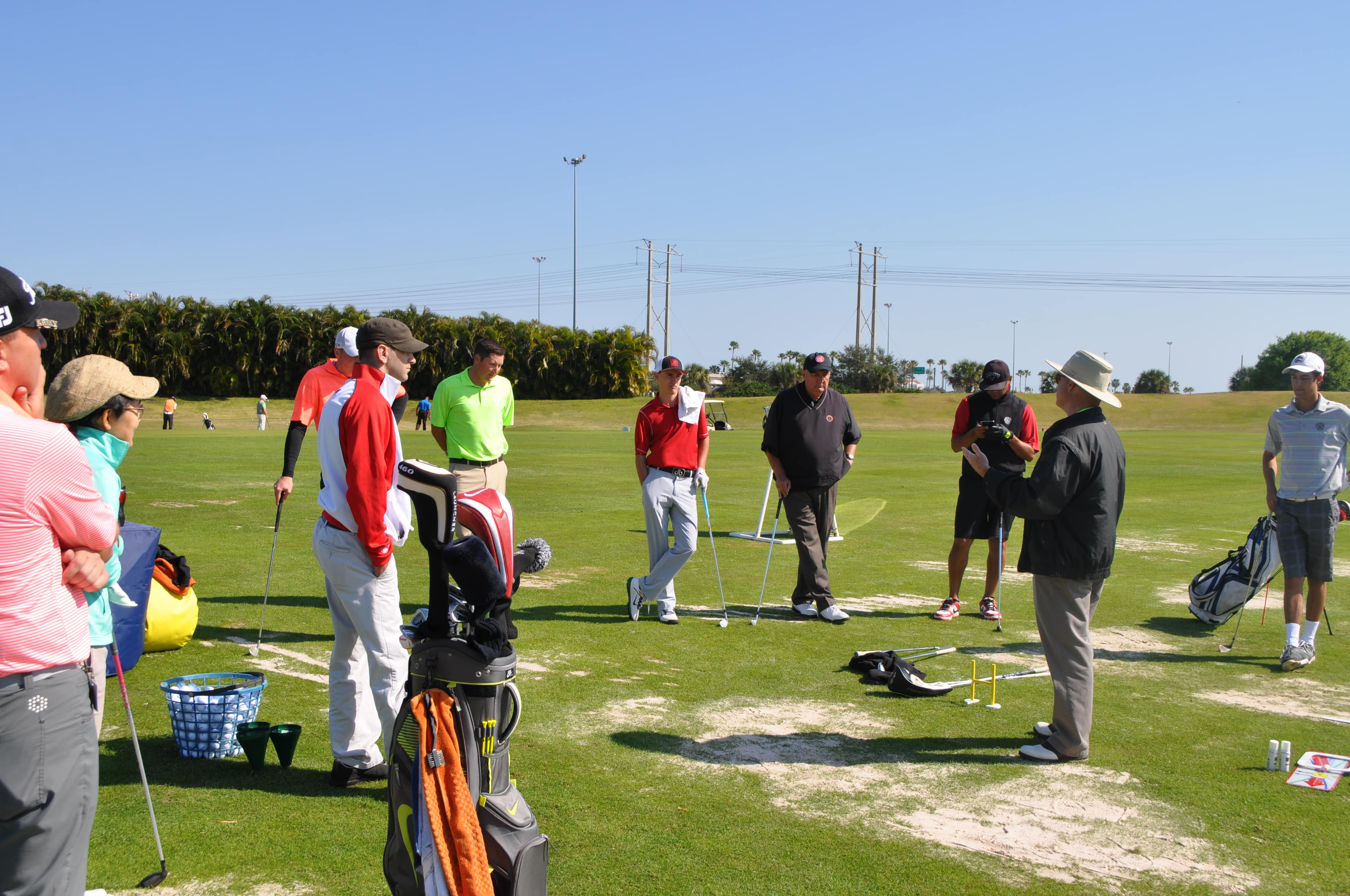 COGSM Students Attend a Full Swing Golf Clinic at the PGA Learning Center
