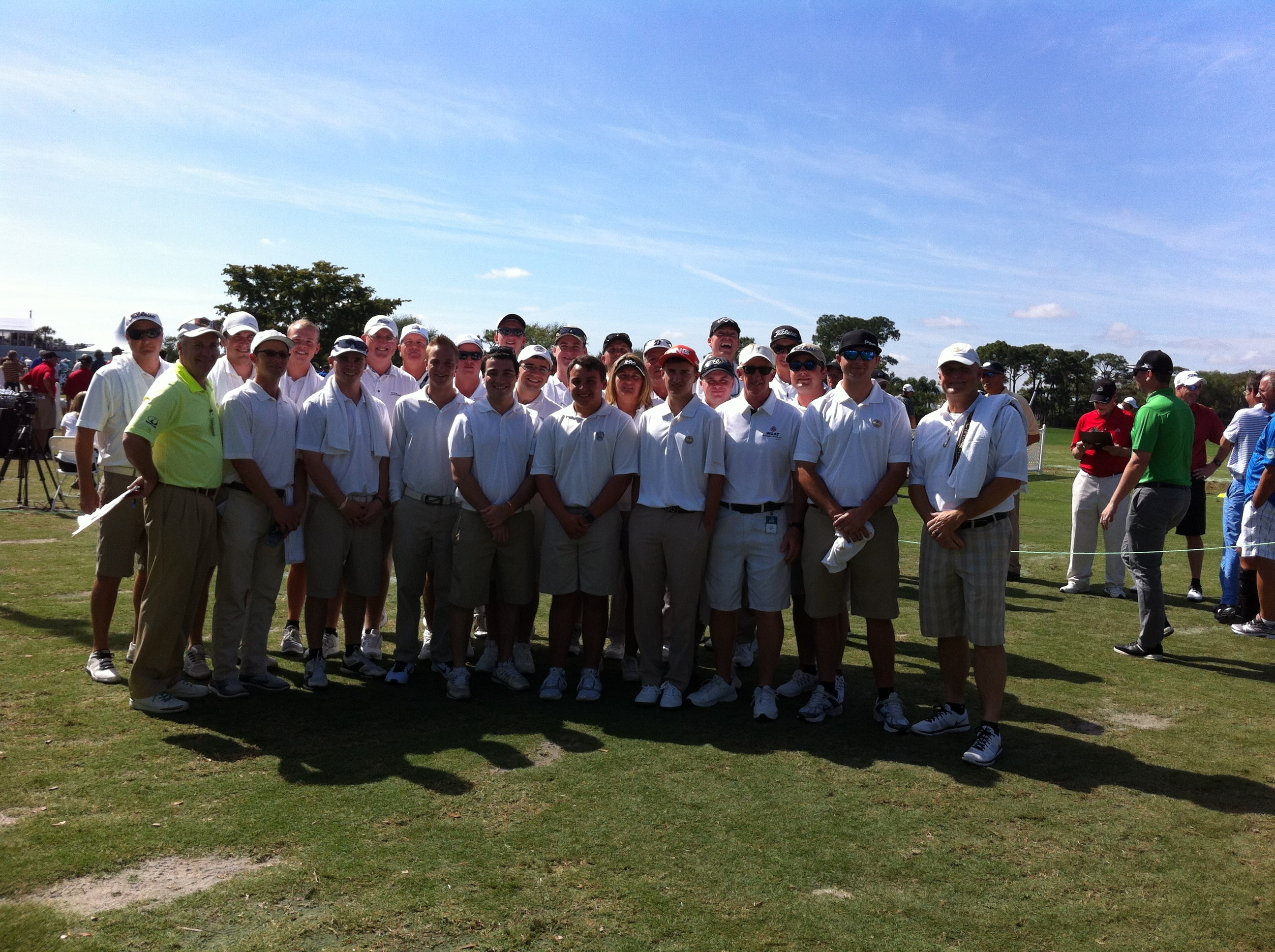 College of Golf and Sport Management Students Participate in the Honda Classic