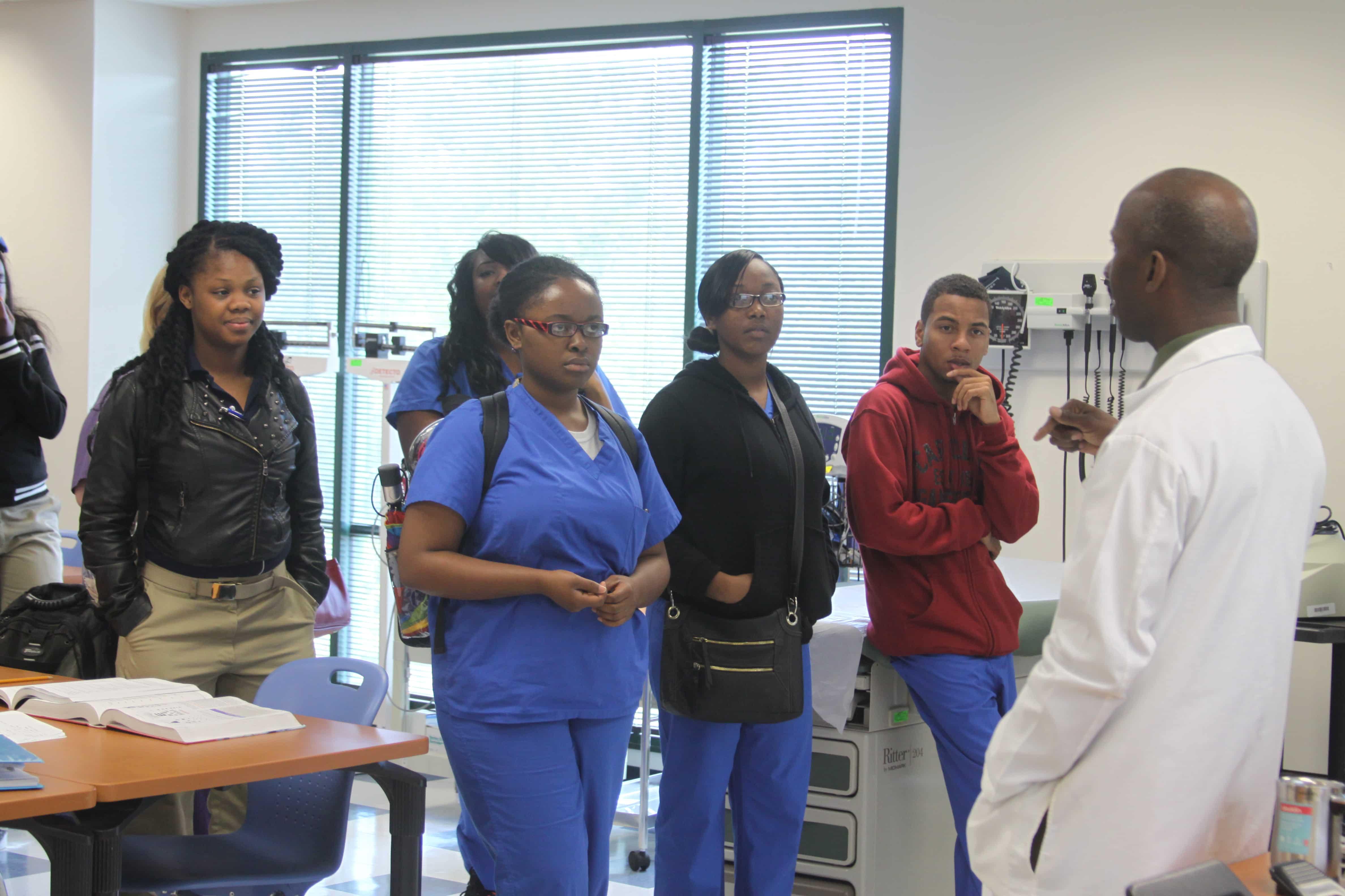 Job Corps Students Visit Jacksonville Keiser University