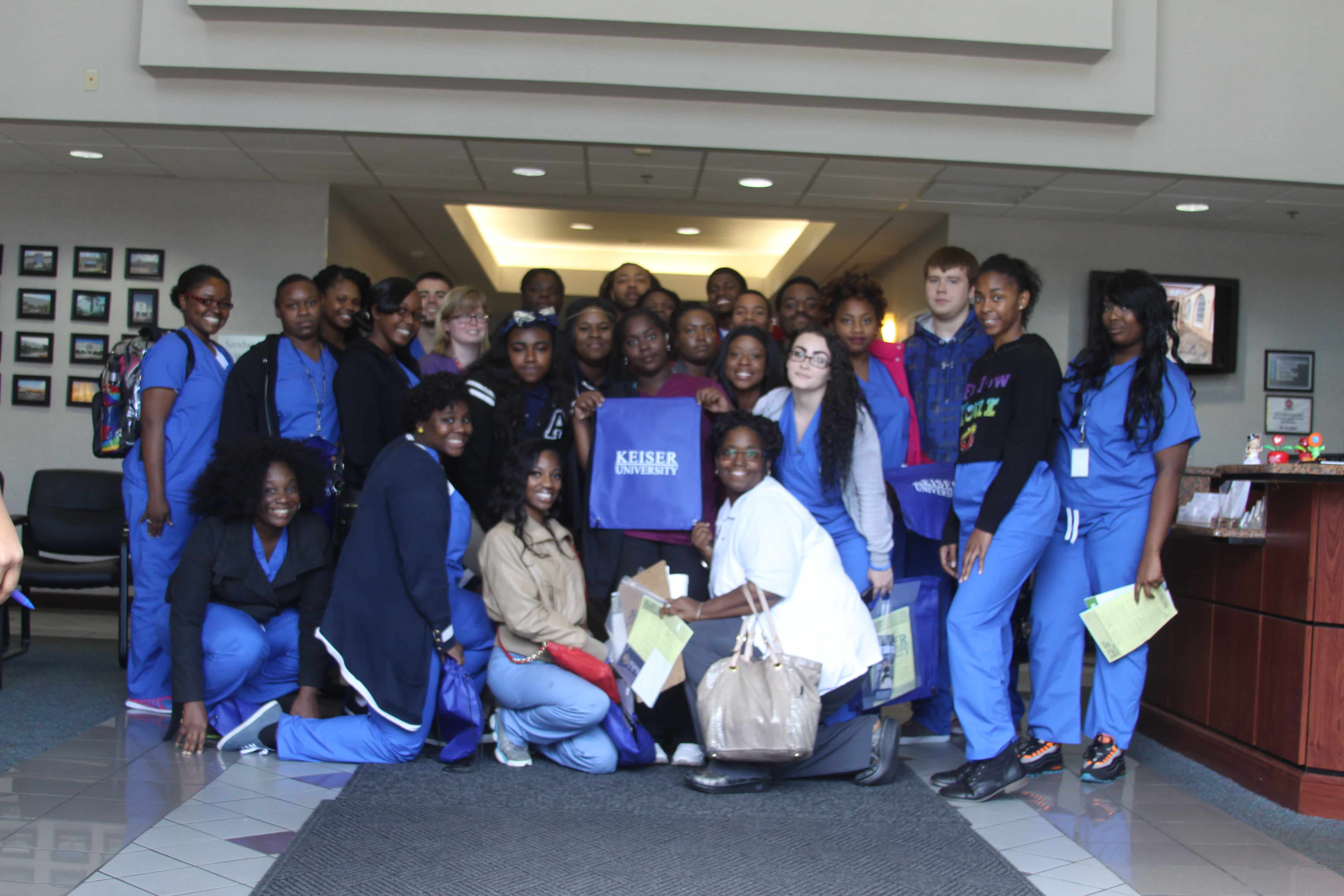 Job Corps Students Visit Jacksonville