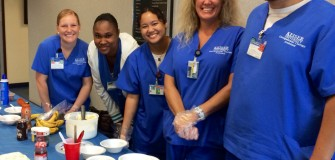 OTA ice cream fundraiser for march of dimes july 2014