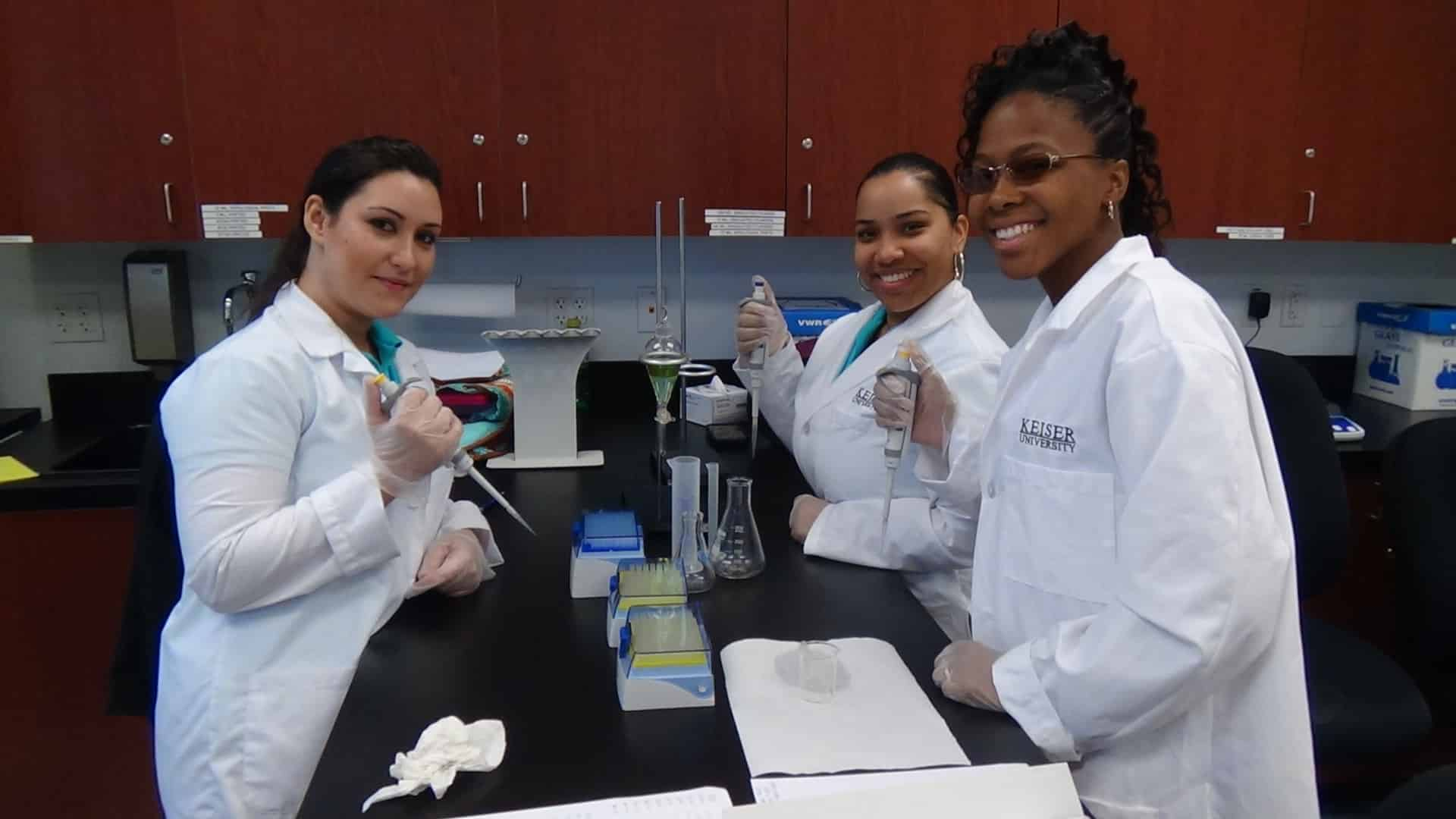 Fort Myers Students Learn How to Separate Organic Compounds and Inorganic Compounds