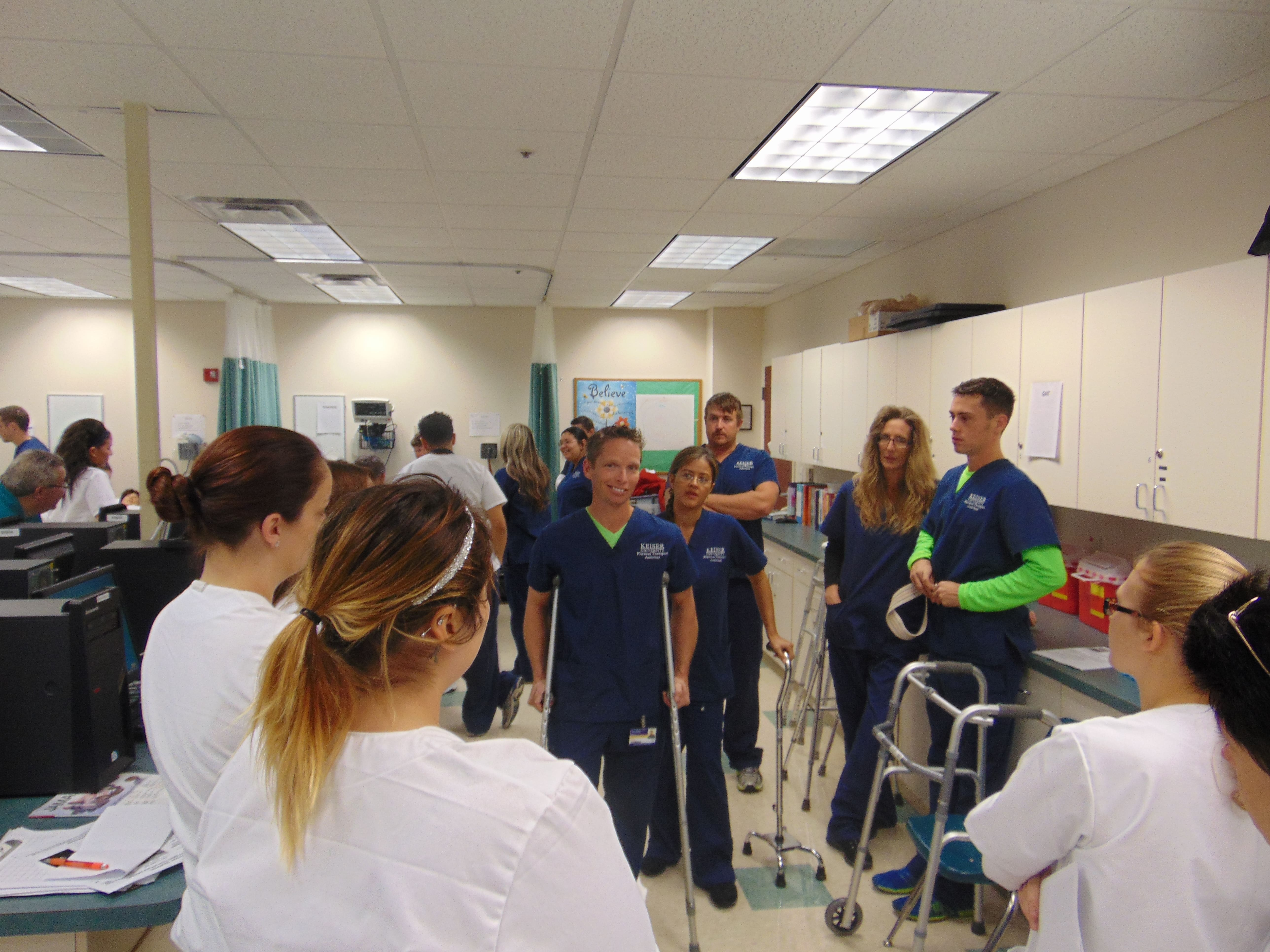 Collaborative Nursing Student Handbook ~ Physical therapy assistant and nursing students