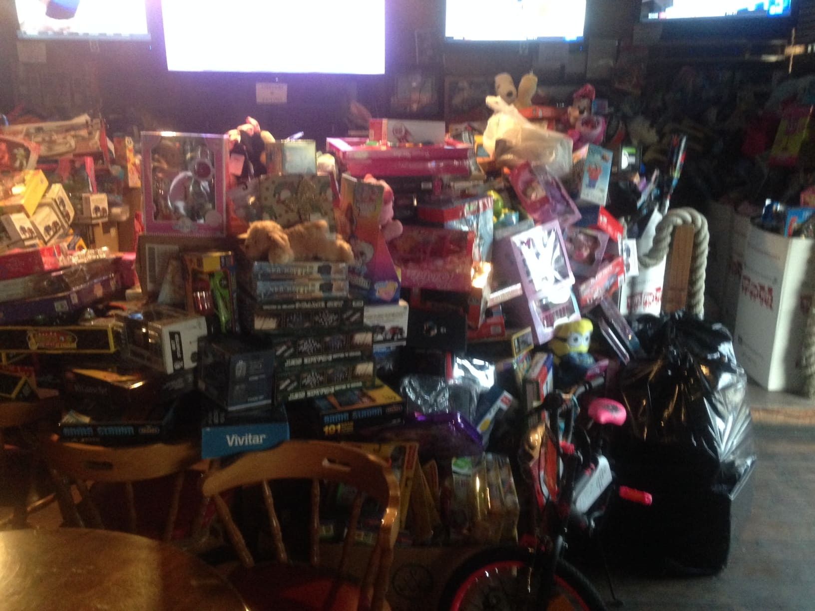 Toys For Tots Request Toys : Miami collects toys to donate for tots keiser