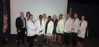 White Coat Ceremony Jan. 2015