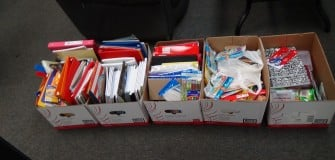 back to school drive sept. 2014