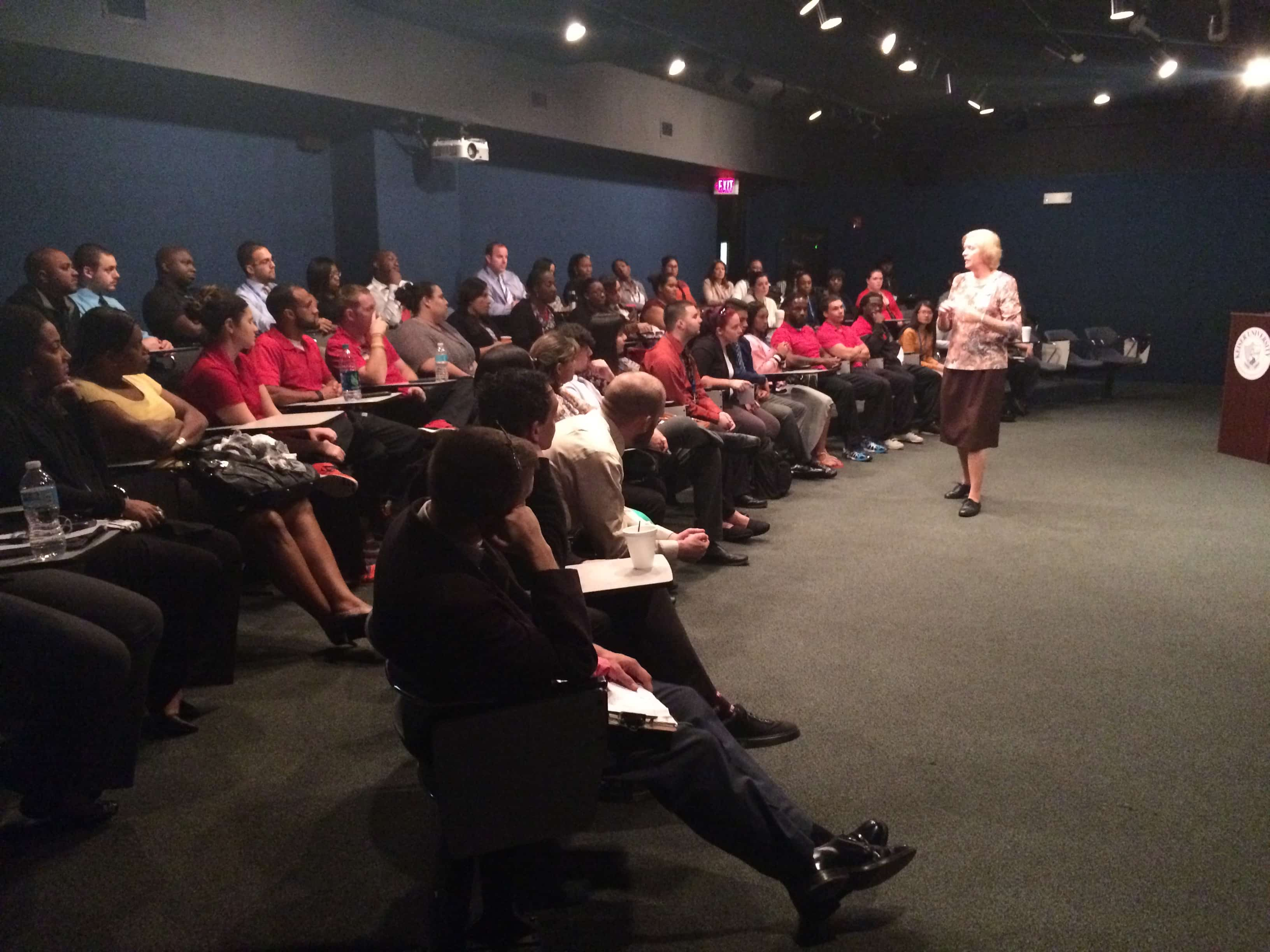 211 Broward Visits the Ft. Lauderdale Campus