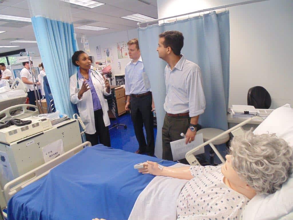 Congressman Carlos Curbelo Visits the Ft. Lauderdale Campus