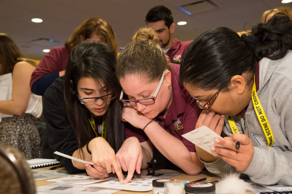 Forensic Investigations Students Attend the Student Academy of the American Association of Forensic Science Meeting