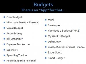 Geoff Stam Financial Planning March 2015