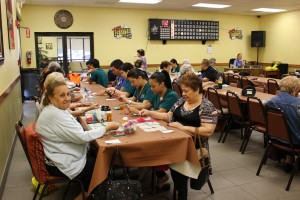 KU Day at Senior Center March 2015 (9)