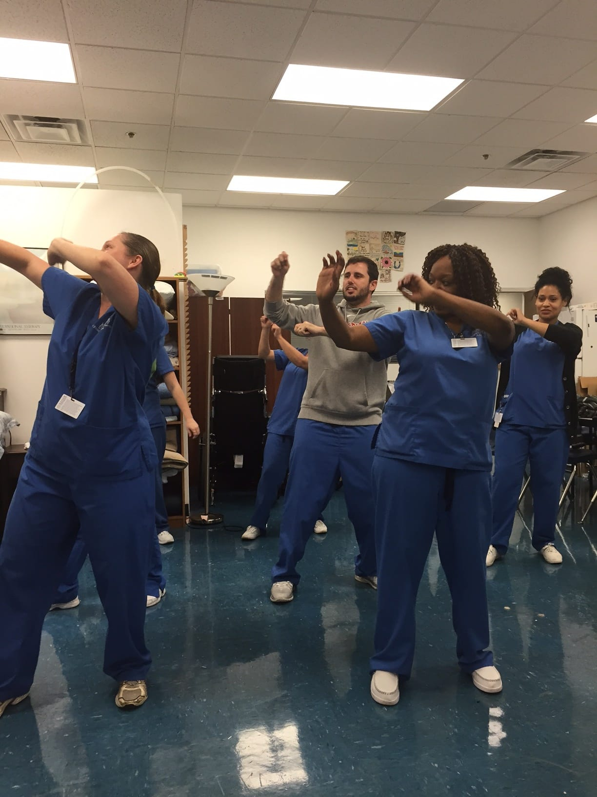 OTA Students Dance Towards Therapy