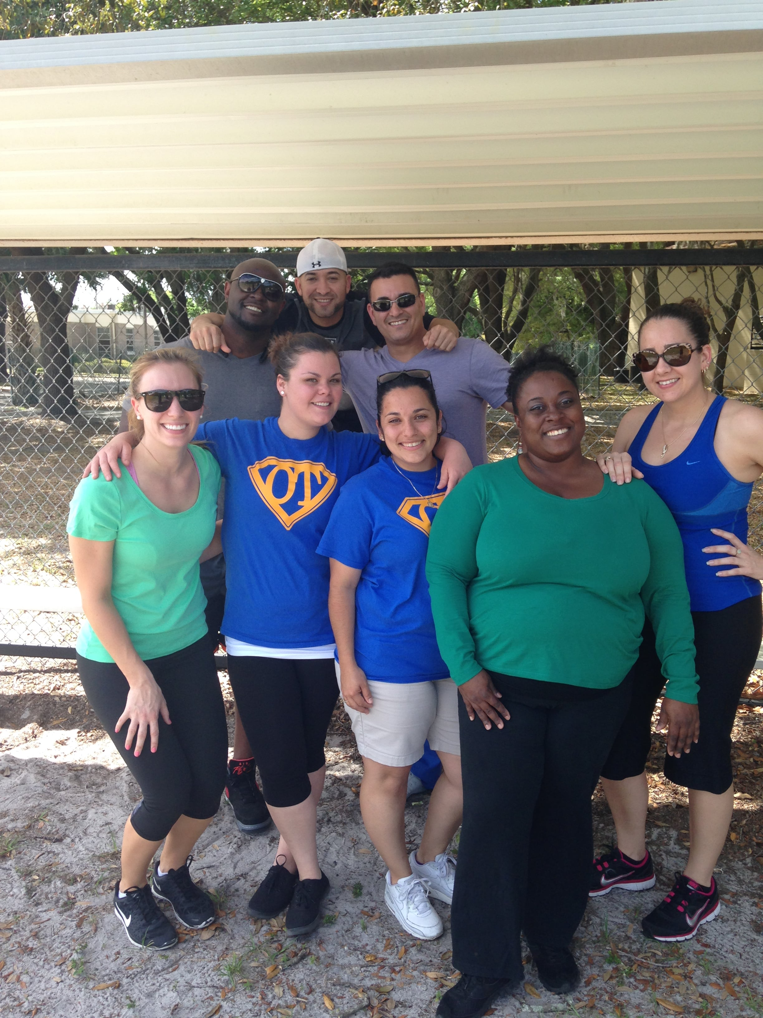 Tampa's OTA Students Give Back to the Community