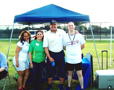 Occupational Therapy Assistant Students from KU Daytona Beach Volunteer with Special Olympics
