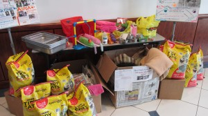 Polk Co. Sheriffs Office Animal Shelter donations March 2015 (1)