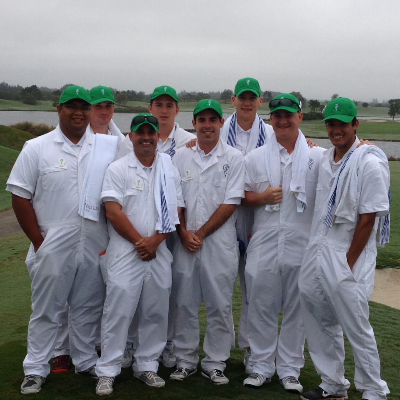 KU College of Golf & Sport Management Students Caddy at Quail Valley
