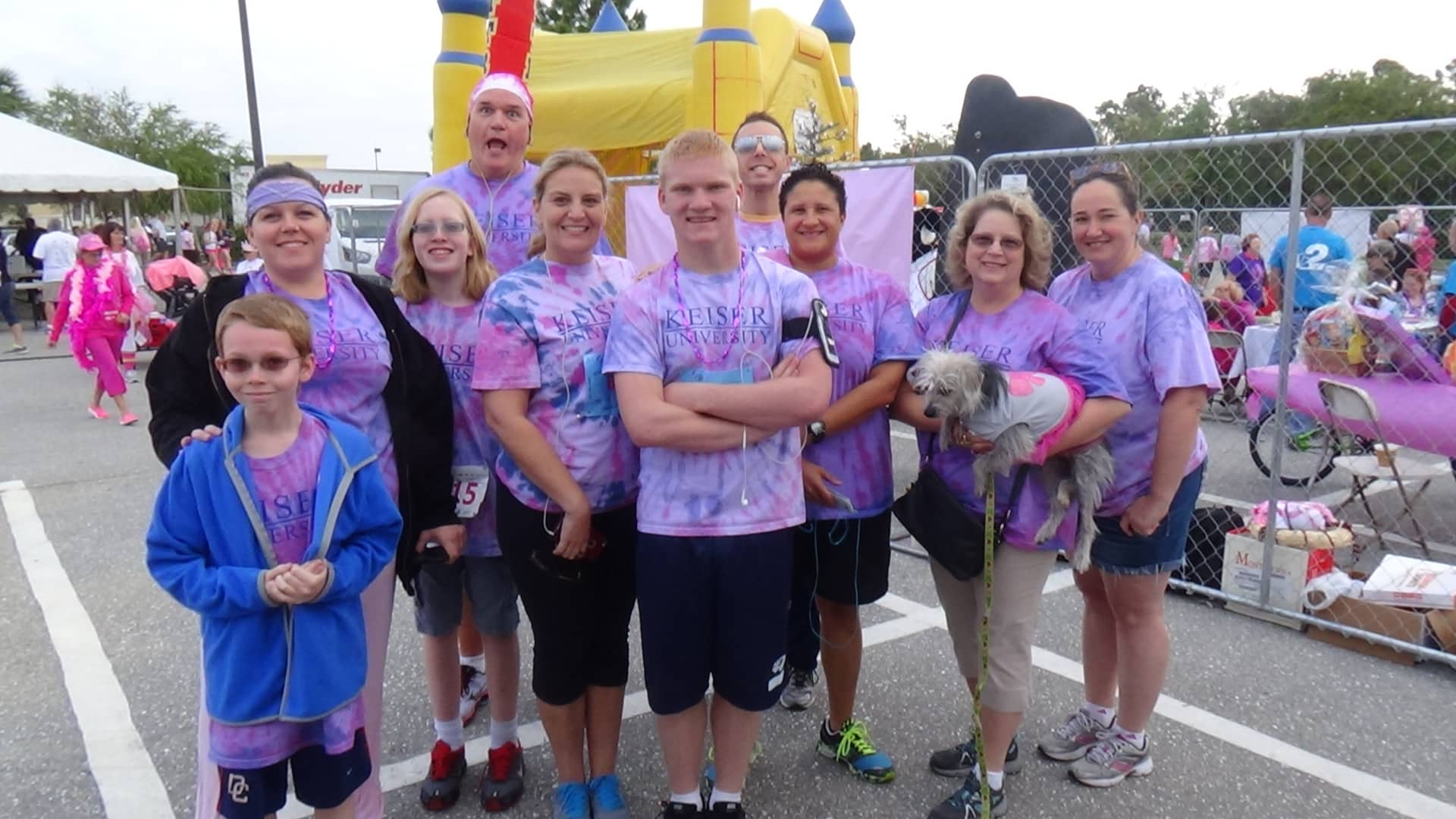 Fort Myers Campus Participates in Race For The Cure