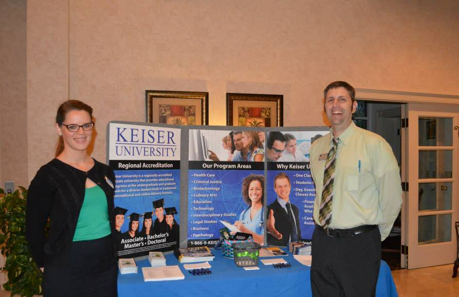 Representatives from the Lakeland Campus Work with Human Resources Professionals