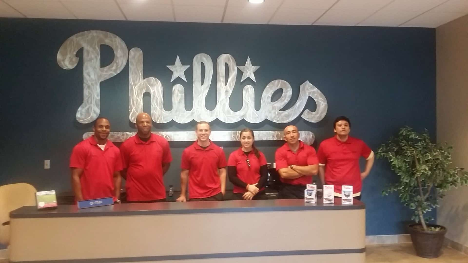 Tampa's Sports Medicine Gets Private Tour of Philadelphia Phillies