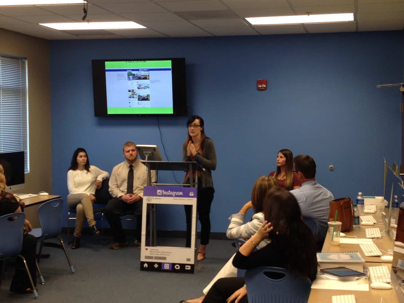 Lakeland Social Media Communication Students Land Their First Client