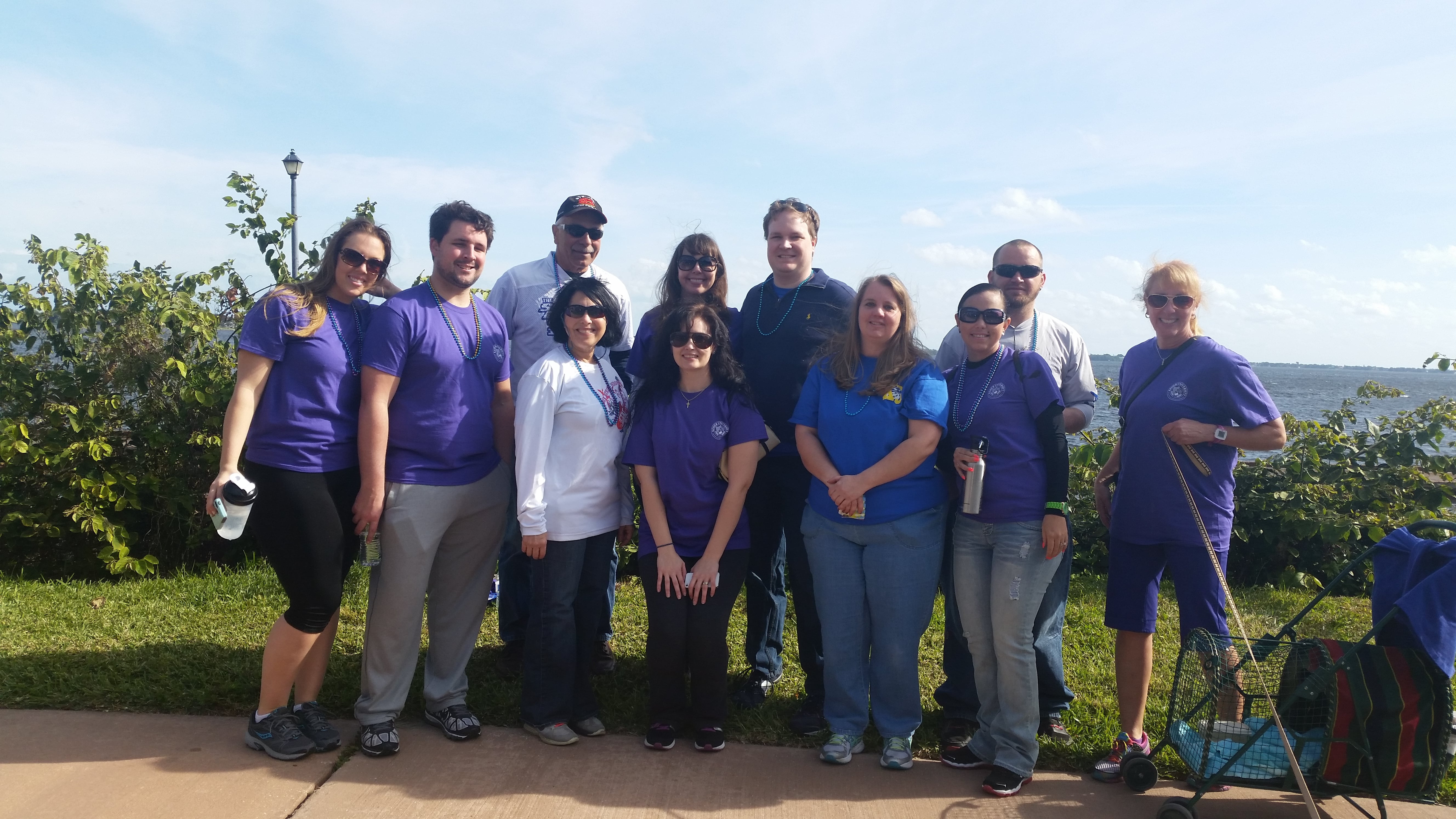 Port St. Lucie Participates in First Annual Martin County Out of the Darkness Walk
