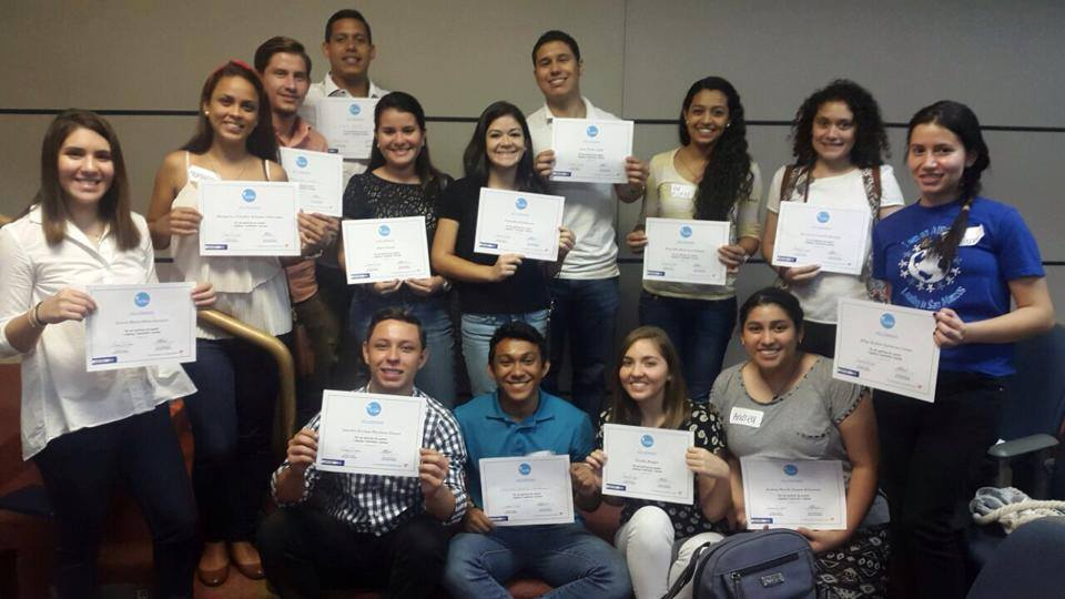 Students at the Latin American Campus Attending an Outgoing Preparation Seminar