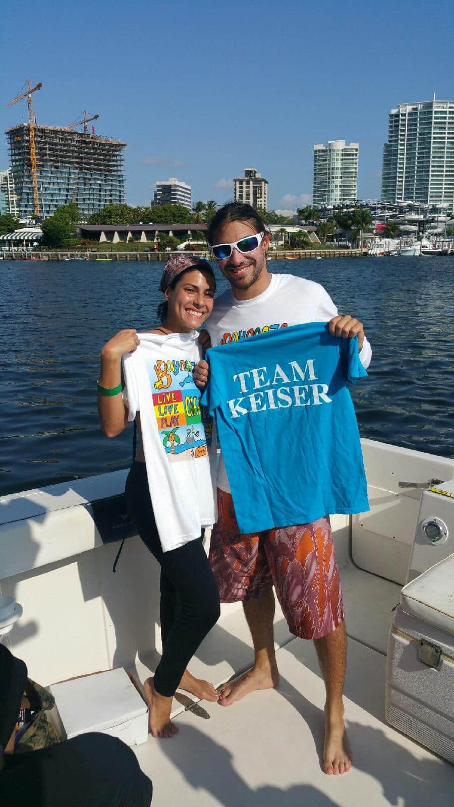 Miami Students Volunteer at Baynanza 2015
