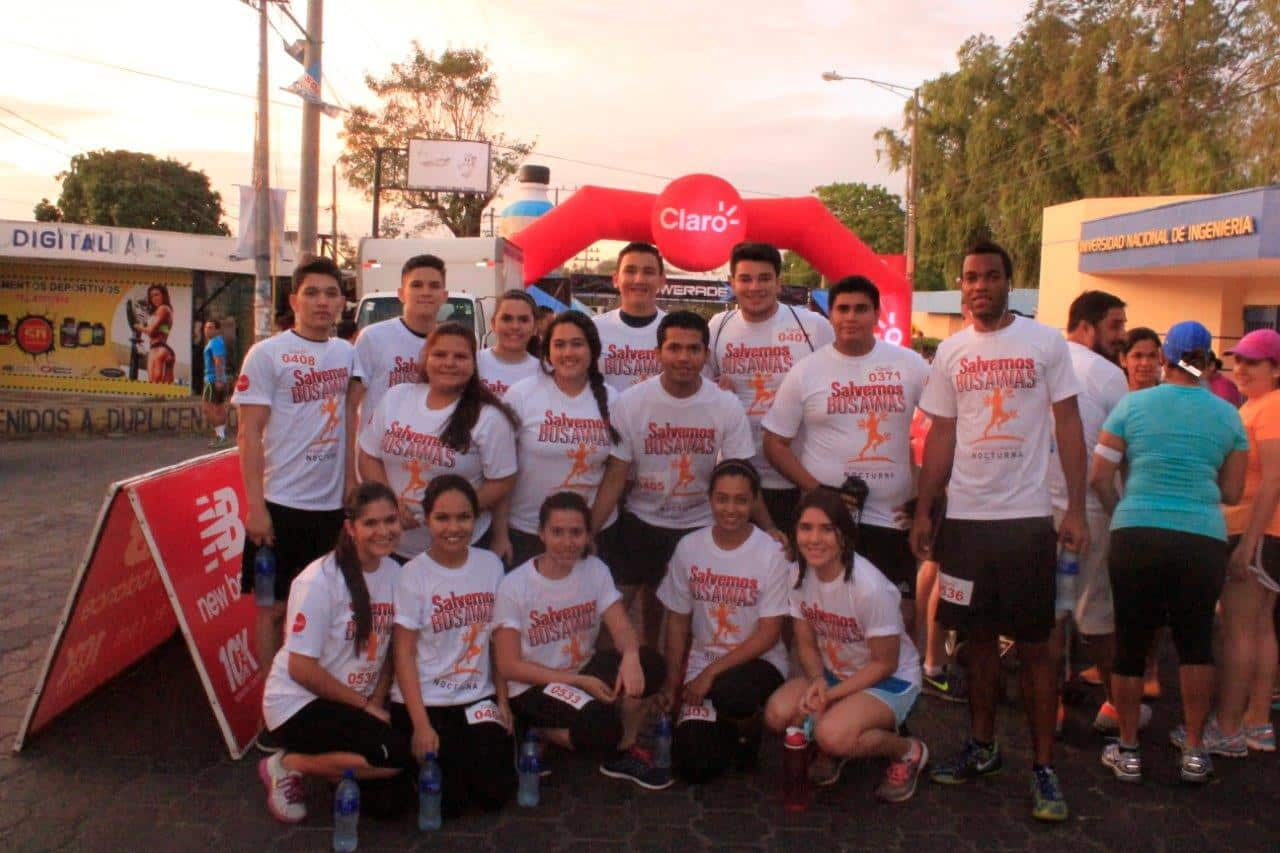 """KU Latin American Students Participate in the Race """"Let's Save Bosawas"""""""