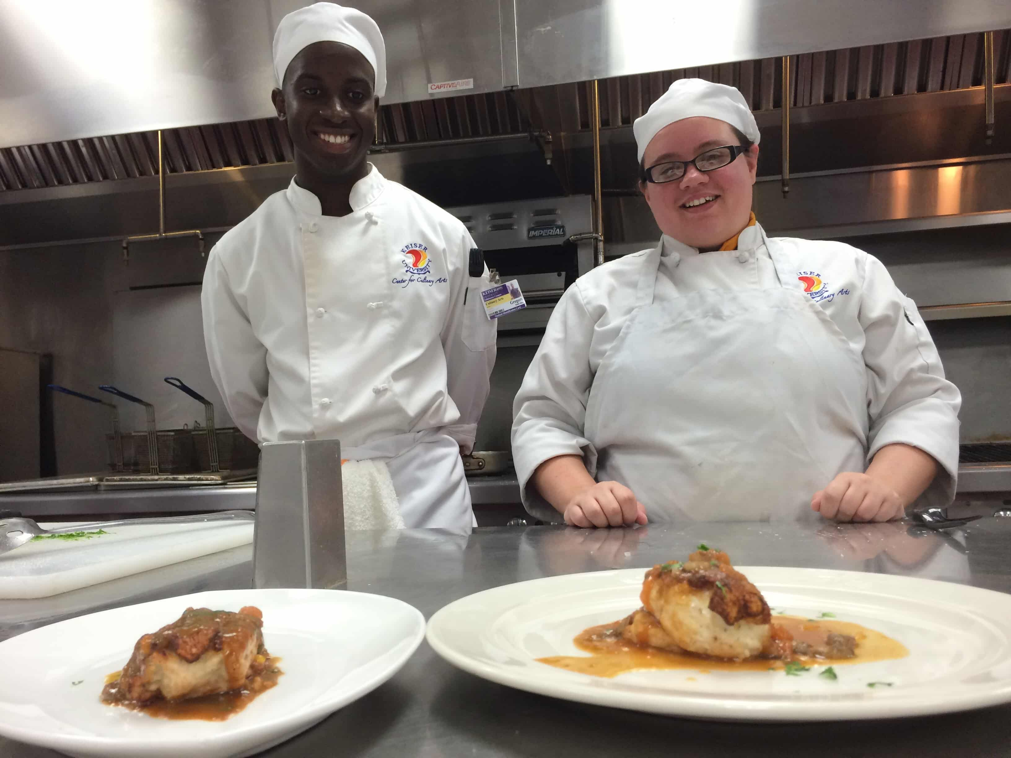 Culinary Competition in Tallahassee's Center for Culinary Arts