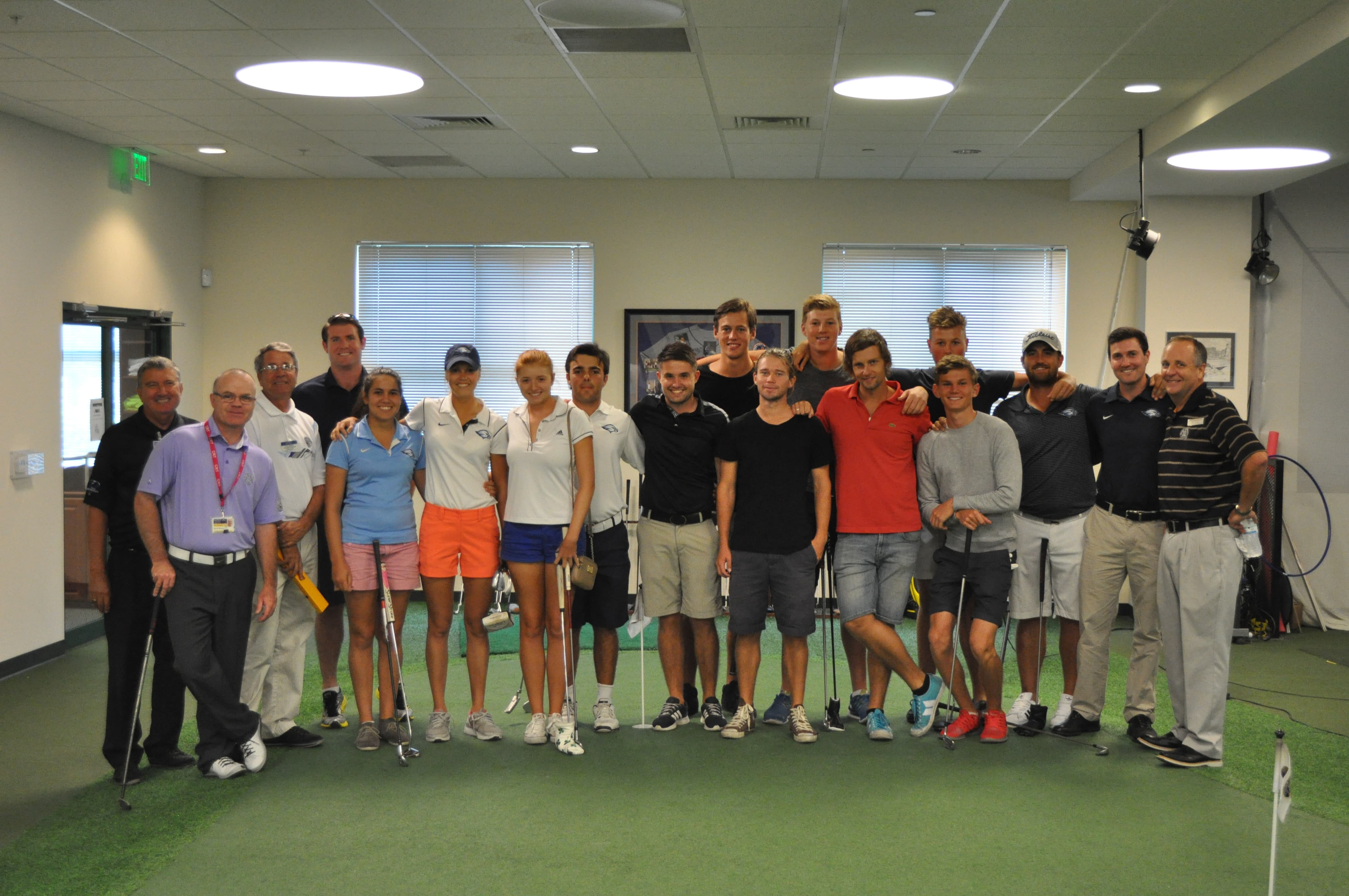 KU College of Golf and Sport Medicine is Visited by Northwood University Students on the Golf Team