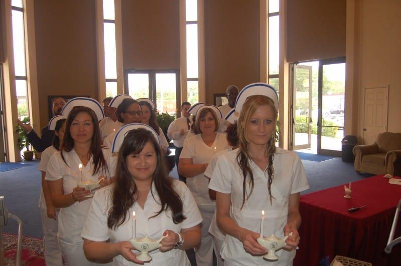 Keiser University Pinning Ceremonies