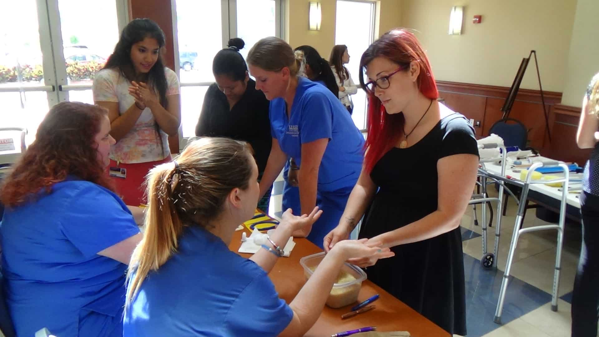 Fort Myers OTA Students Host Occupational Therapy Fair in Honor of Occupational Therapy Month