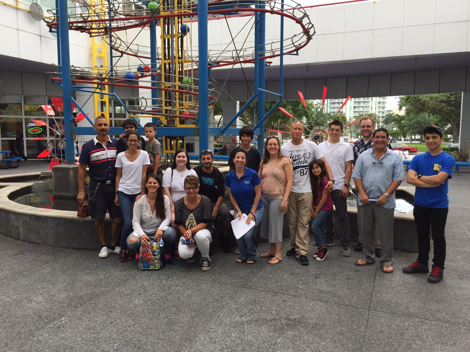 PTK Members Bond at Museum of Science and Discovery with Family and Friends