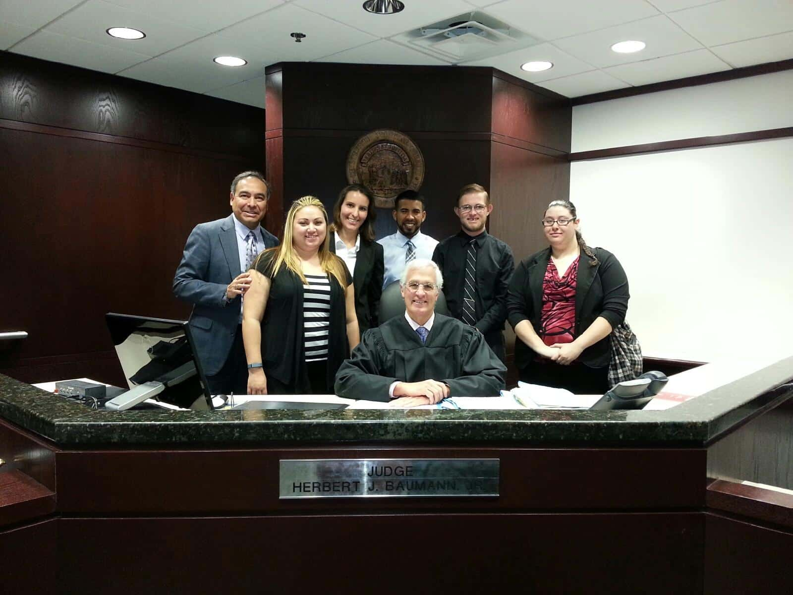 Tampa Students Take a Trip to Visit 13th Circuit Court