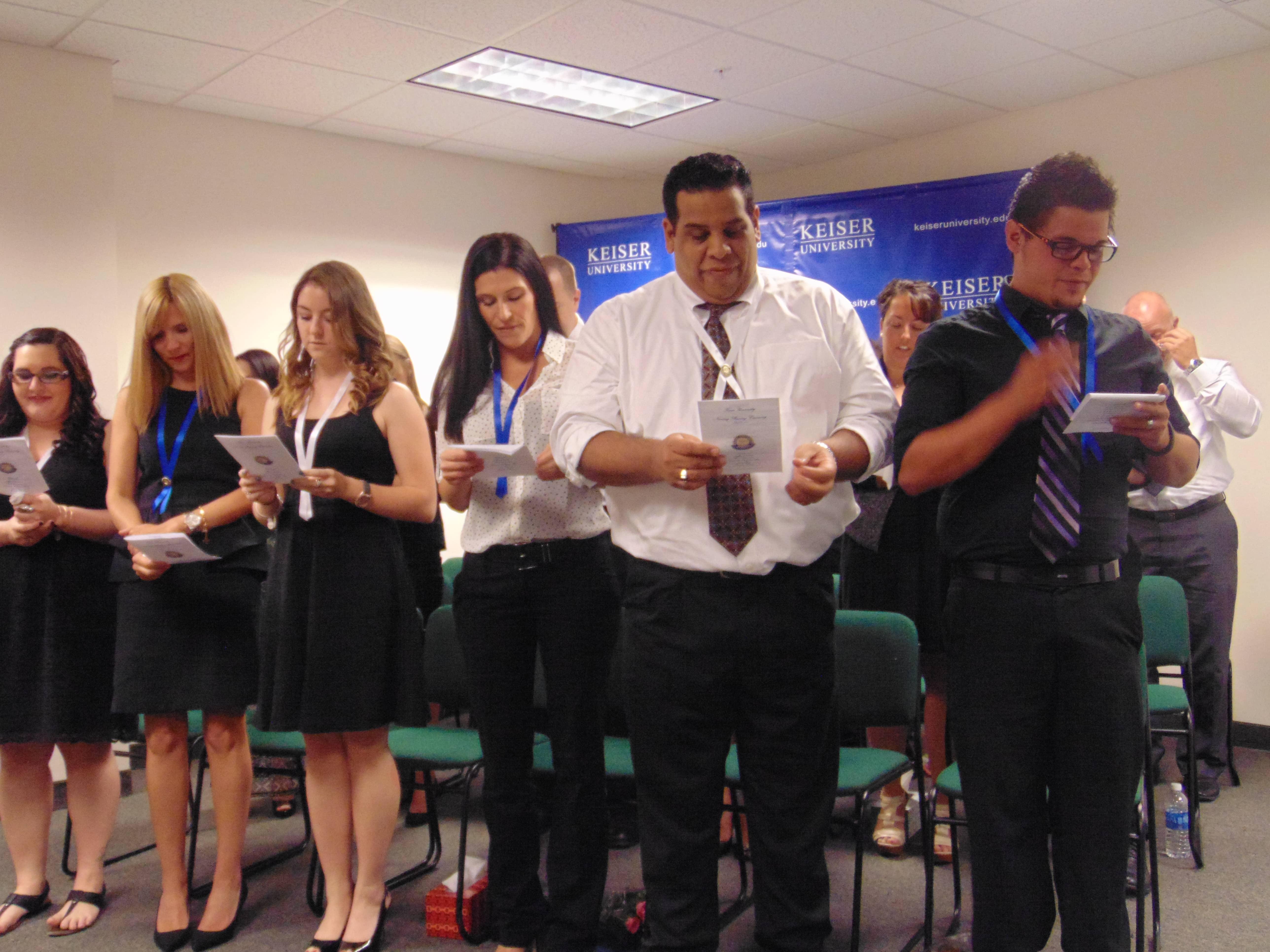 Occupational Therapy Graduate Programs >> Keiser University Pinning Ceremonies - Keiser University