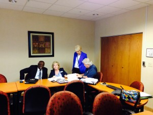 SACS committee meeting April 2015
