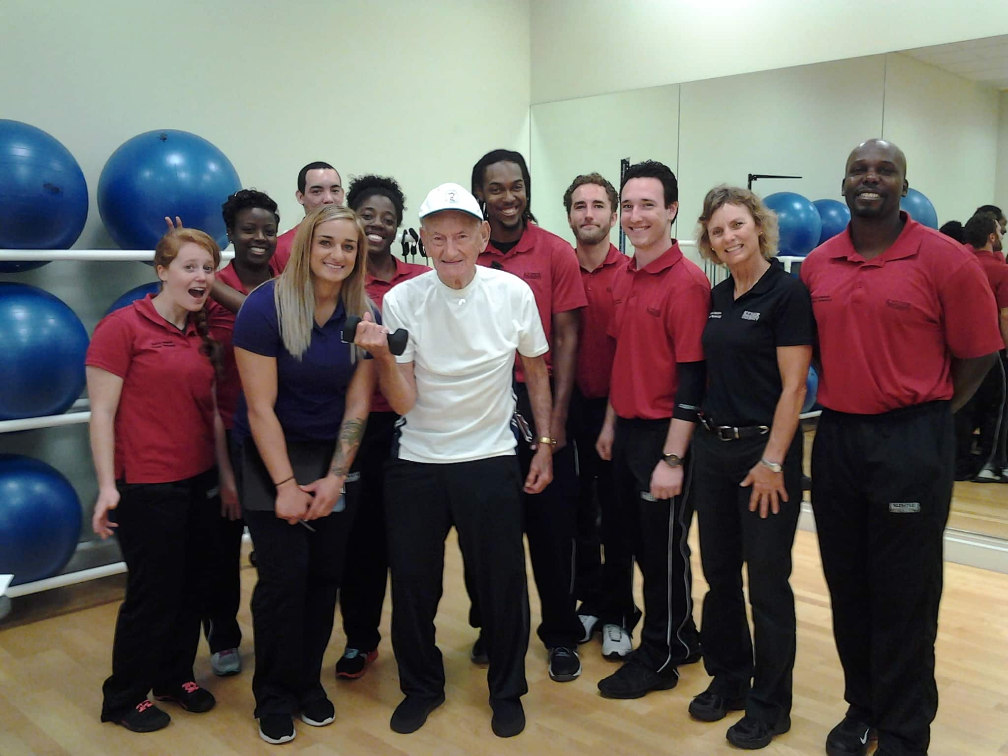 Sports Medicine and Fitness Technology Students Participate in a Health Fair
