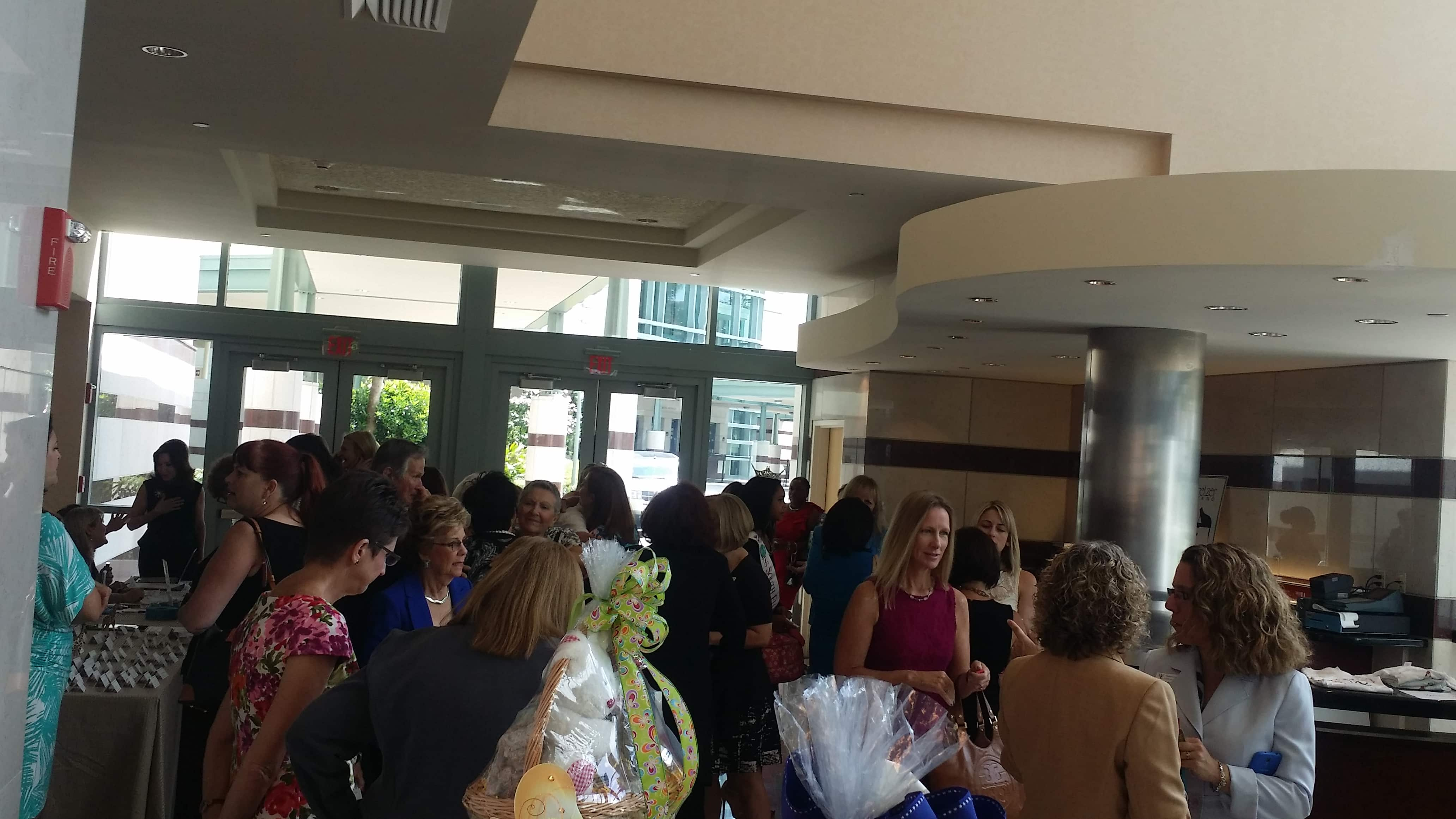 Representatives from the West Palm Beach Campus Attend the Women's Chamber of Commerce Giraffe Awards Luncheon