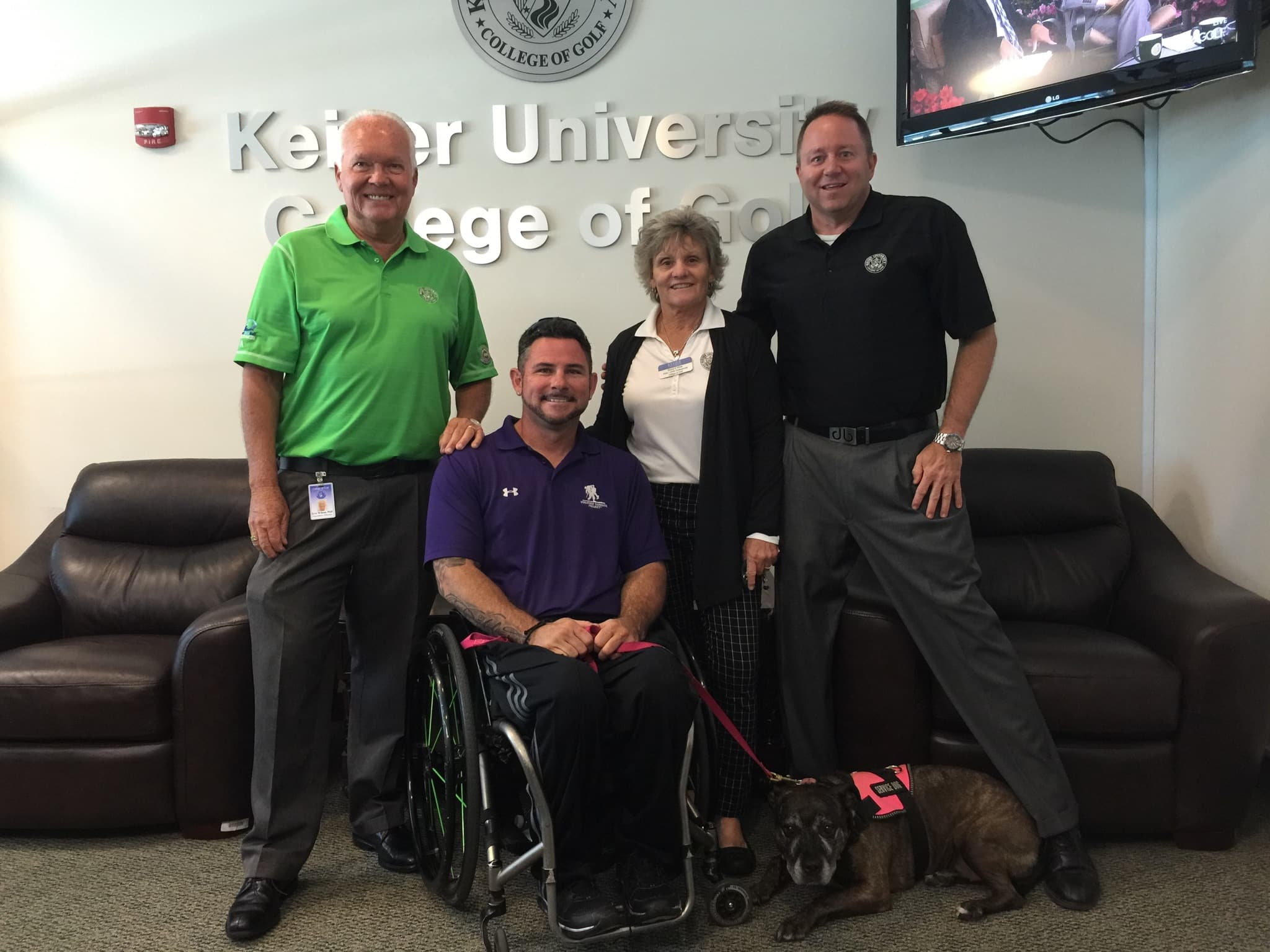 Wounded Warrior Project Visits Keiser University College of Golf & Sport Management