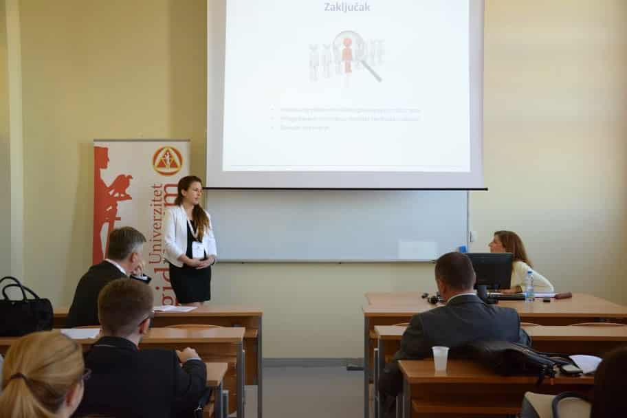 A Faculty Member from Graduate School Presents at Conference in Serbia