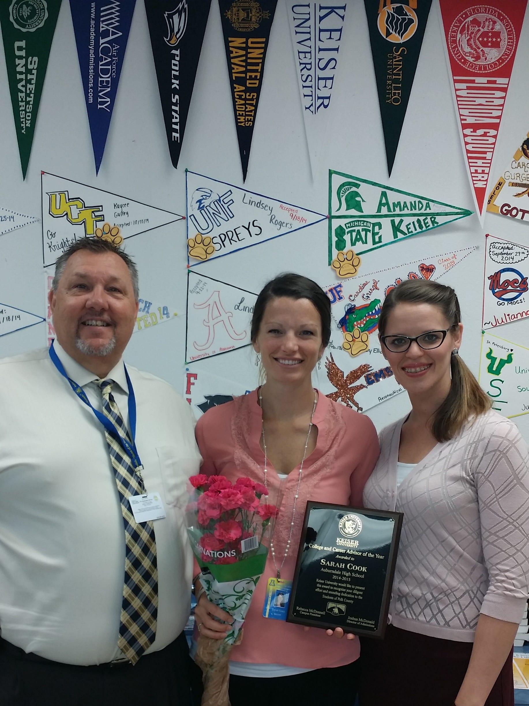 Kick Off of KU Lakeland's Teacher Awards