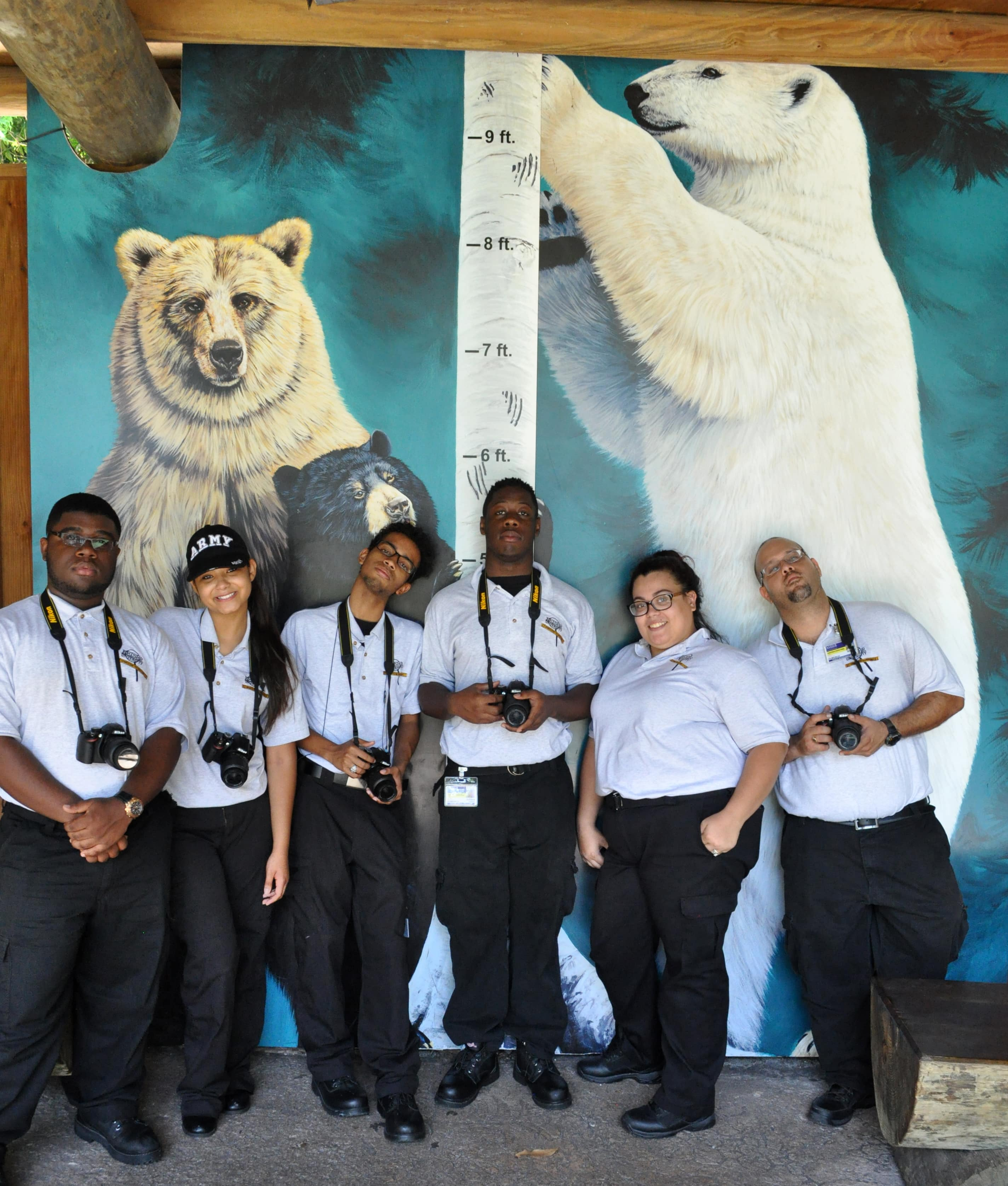 West Palm Beach Crime Scene Technology Students Put Their Skills to the Test at the Zoo