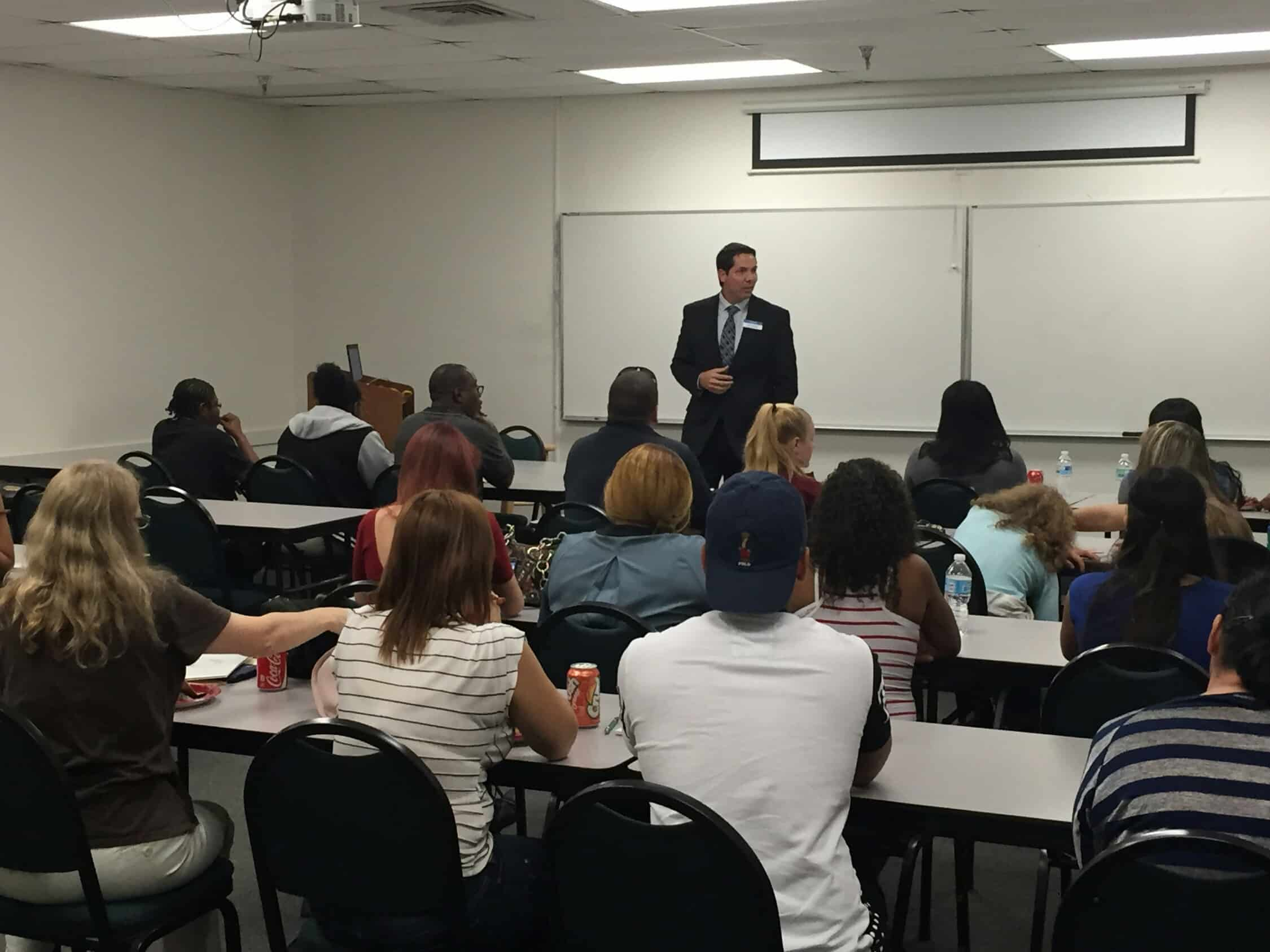The Orlando Campus Hosts a FAFSA Workshop for High School Students