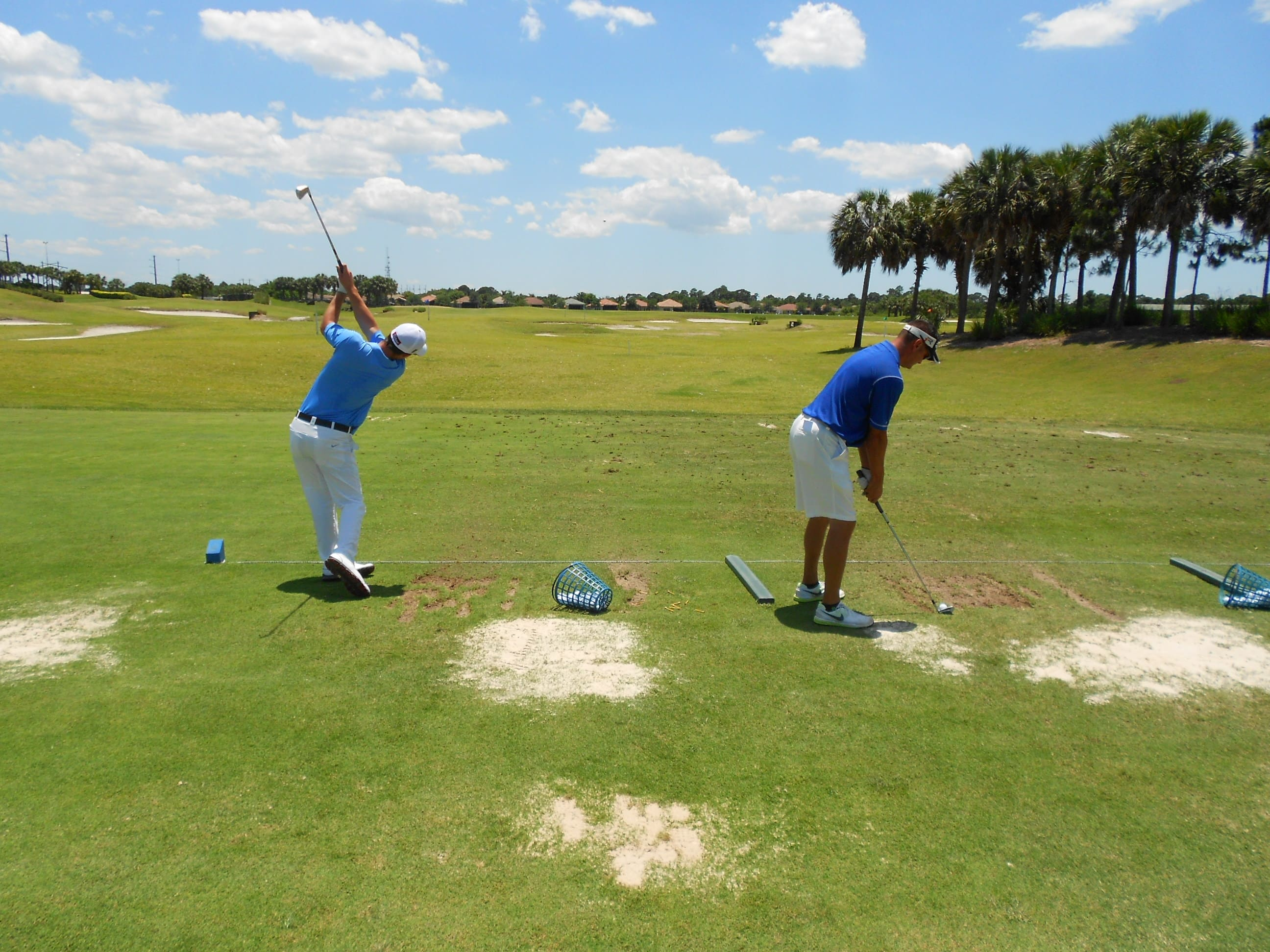 KU College of Golf & Sport Management Staff Offer Impact Zone Clinics for Students