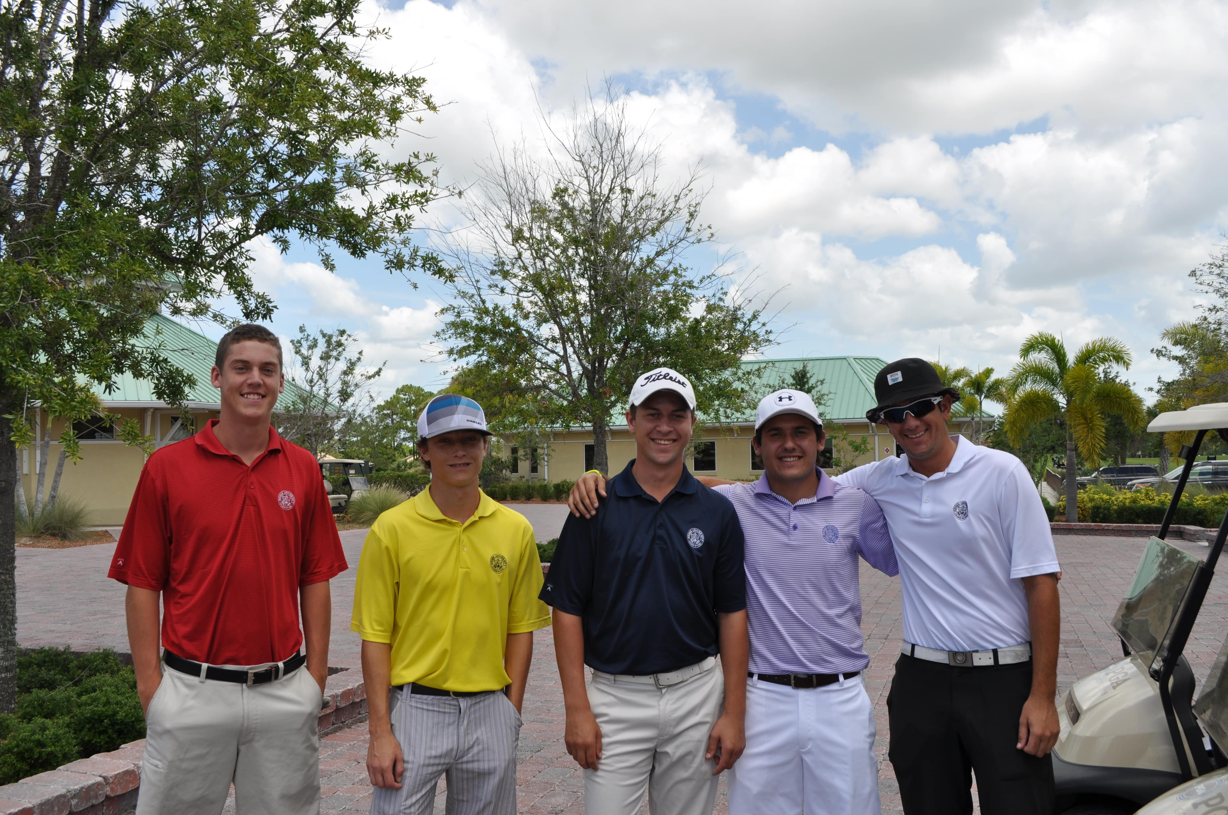 College of Golf and Sport Management Students compete in Golf Match Play Championship