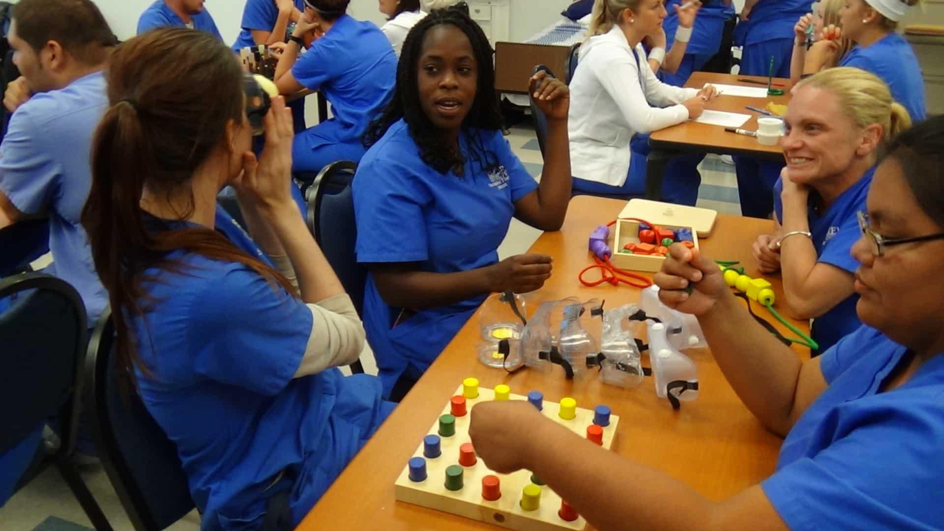 Fort Myers OTA Students Learn Sensory Assessment