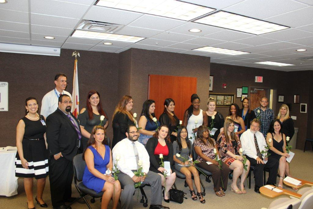 The West Palm Beach Campus Holds a Phi Theta Kappa Induction Ceremony