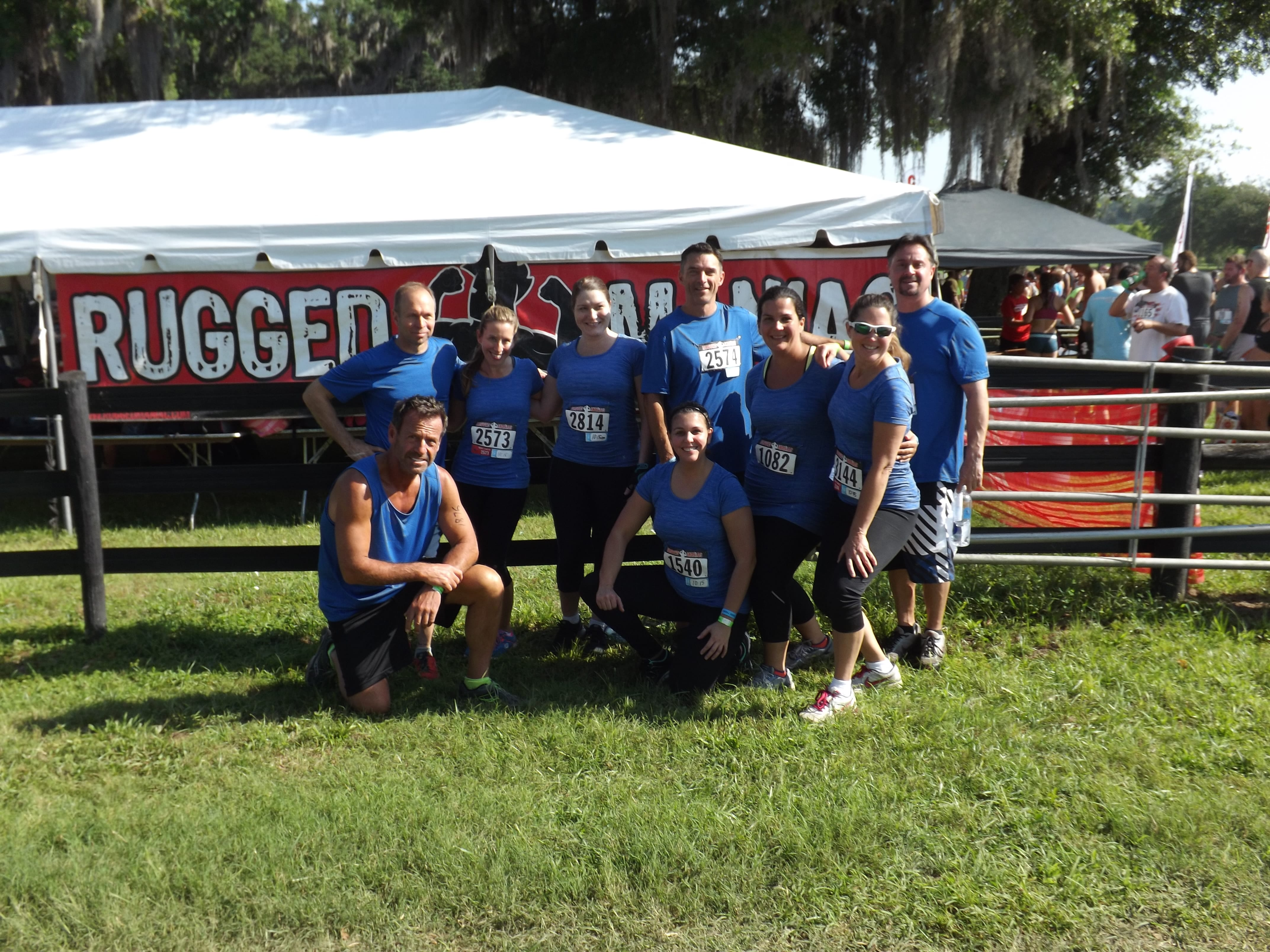 Lakeland Participates in Rugged Maniac Obstacle Race