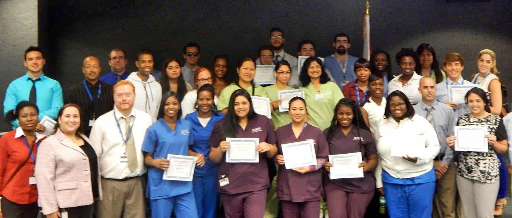 Keiser Students Awarded for Academic Success at Pembroke Pines Campus